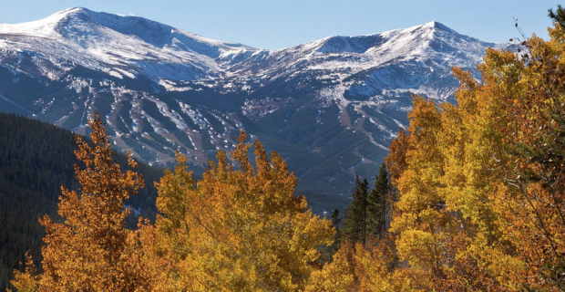 Fall colors in Breckenridge, Colorado