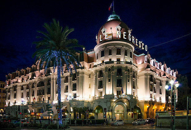 Hotel Le Negresco, in Nice