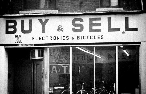 Store buying and selling bikes