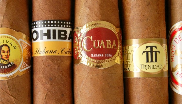 Varieties of Cuban cigars
