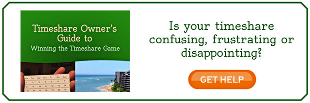 Is your timeshare confusing, frustrating or disappointing?