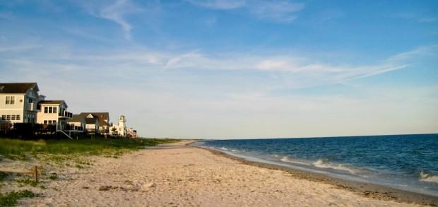 A beautiful beach on Cape Cod