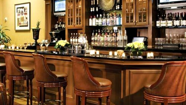 The Manhattan Club's bar in New York City
