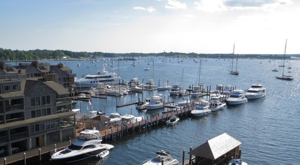Harbor view in Newport, Rhode Island