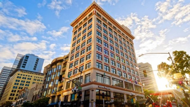 Gaslamp Plaza Suites in downtown San Diego