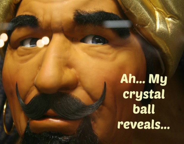 The great Zoltar knows all