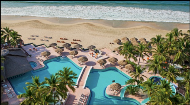 The Sunscape Dorado Pacifico is an all-inclusive resort in Mexico