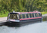 Classic narrowboat