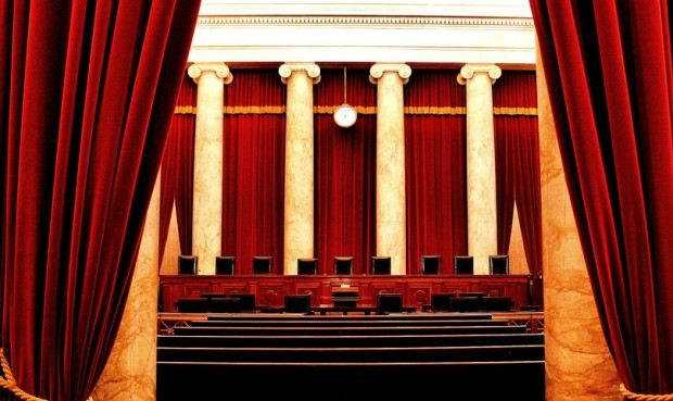 The US Supreme Court chamber