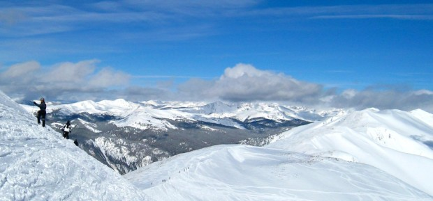 Snowy peaks at Breckenridge, Colorado