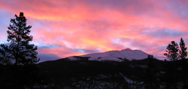 Sunrise at Breckenridge, Colorado