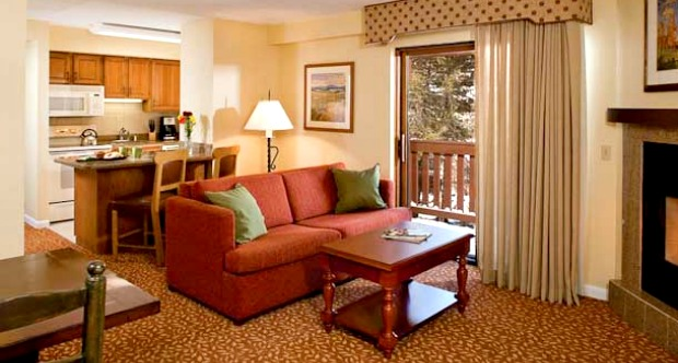 Marriott Streamside at Vail - timeshare living room